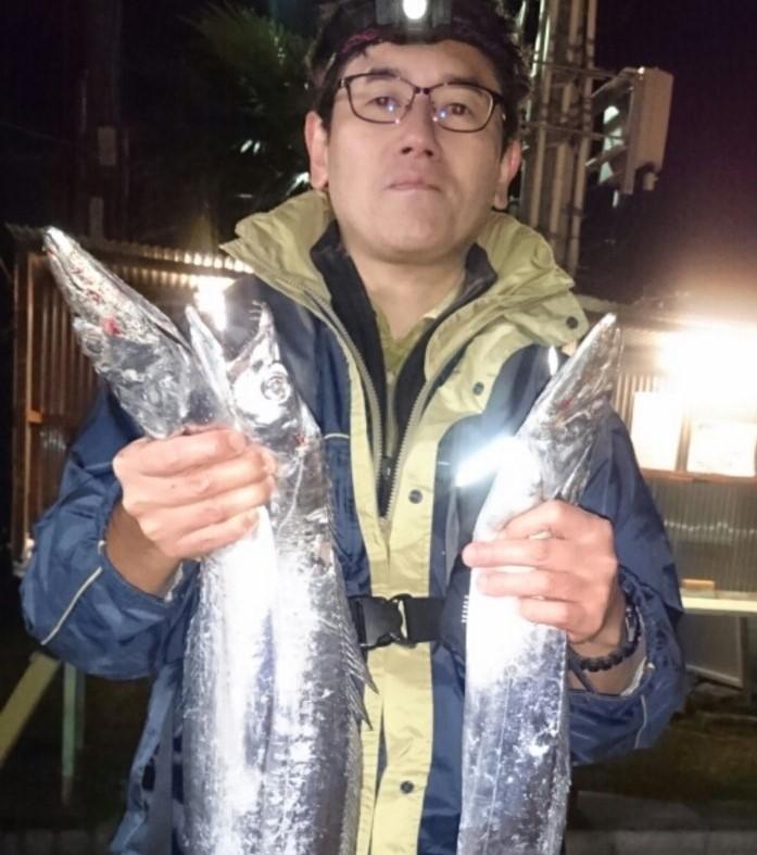 タチウオの曳き釣り
